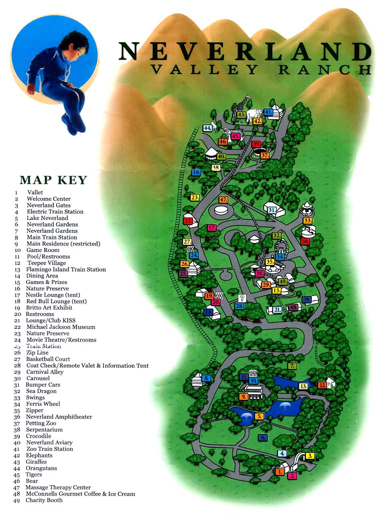 Neverland Ranch Hotels And Road Guide