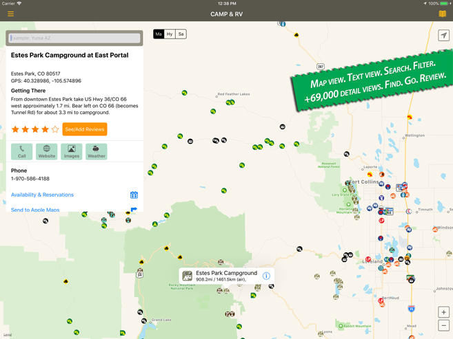 Allstays Camp and RV | RV Parks Campgrounds App