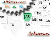 Campgrounds near Van Buren Arkansas