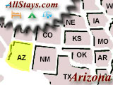 Campground near Parker Arizona