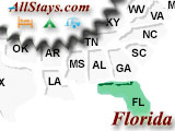 Campground near Fort Myers Beach Florida
