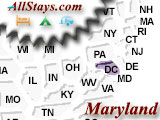 Interstate Highway Exits In Maryland