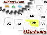 Interstate Highway Exits In Oklahoma