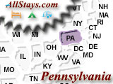 Campground near Fort Loudon Pennsylvania
