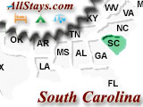Campgrounds near North Charleston South Carolina
