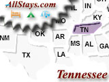 Campgrounds near Clarksville Tennessee