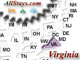 Campground near Charlottesville Virginia
