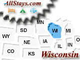 Campground near Hartland Wisconsin