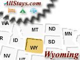 Campground near Worland Wyoming